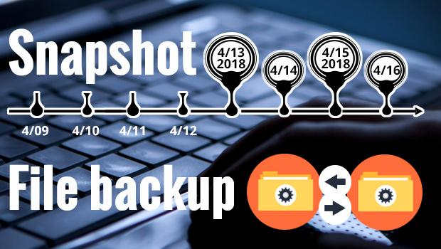 มือใหม่หัดใช้ QNAP NAS: Snapshot คืออะไร แล้วมันต่างจากแบ็กอัพตามปกติยังไง? 1
