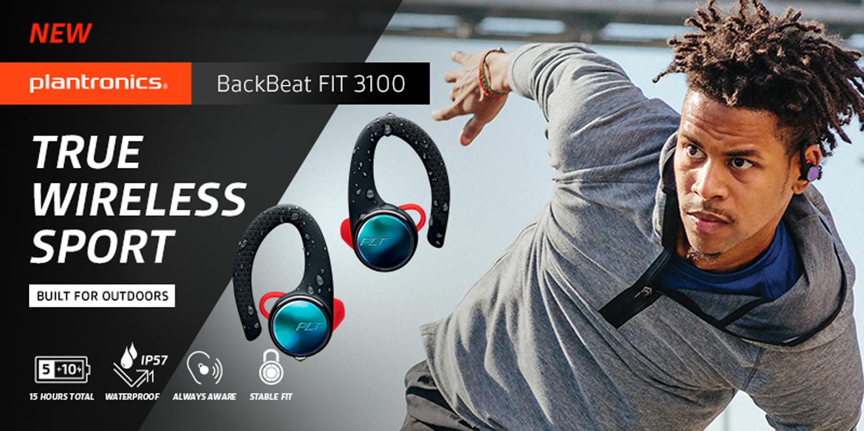 รีวิวหูฟังไร้สาย สำหรับคนออกกำลังกาย Plantronics BackBeat FIT 3100 True Wireless Sport 1