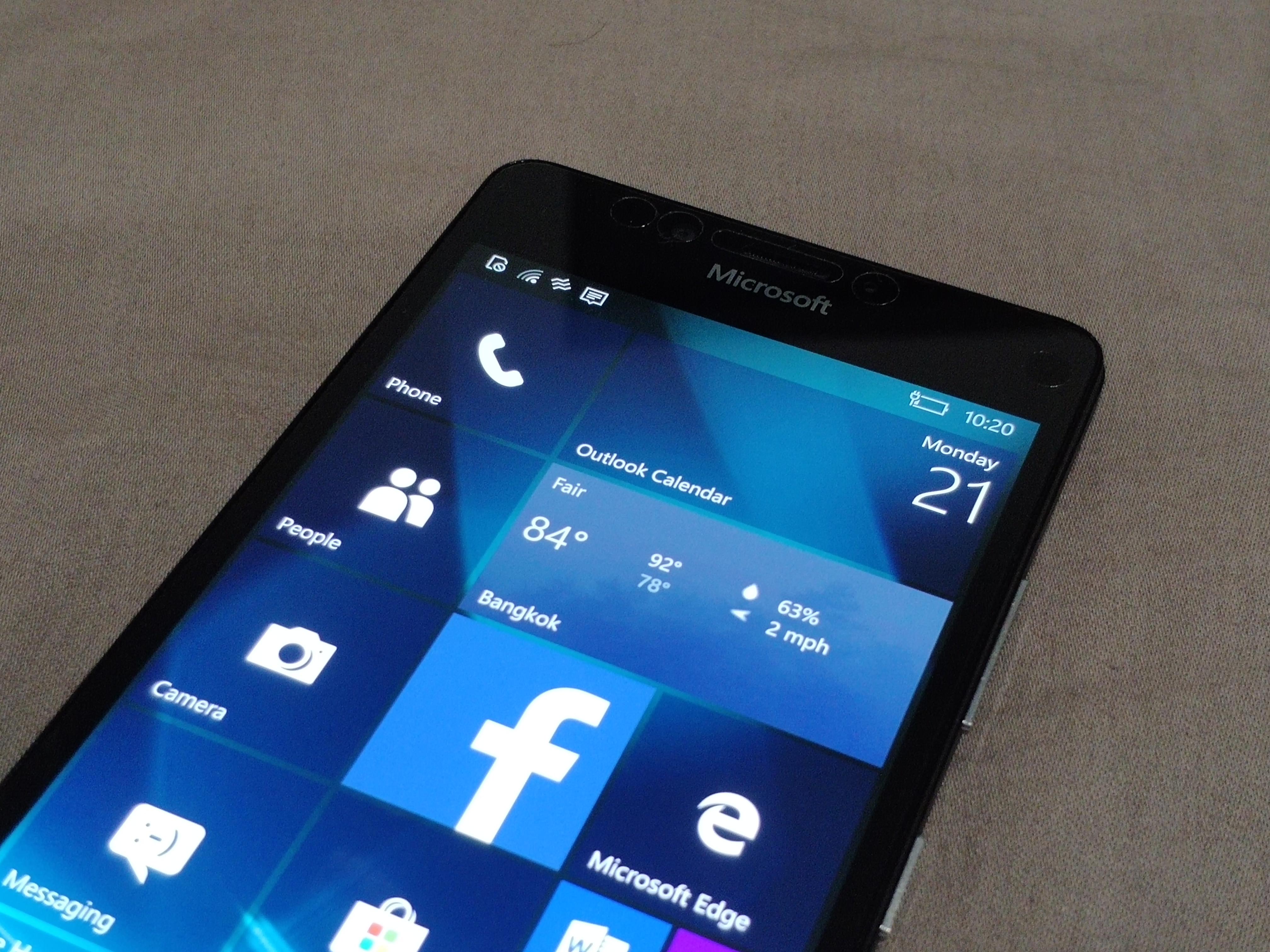 แพอย่างเป็นทางการ Microsoft ยุติการอัพเดตและสนับสนุน Windows 10 Mobile เดือนธันวาคมนี้ 1