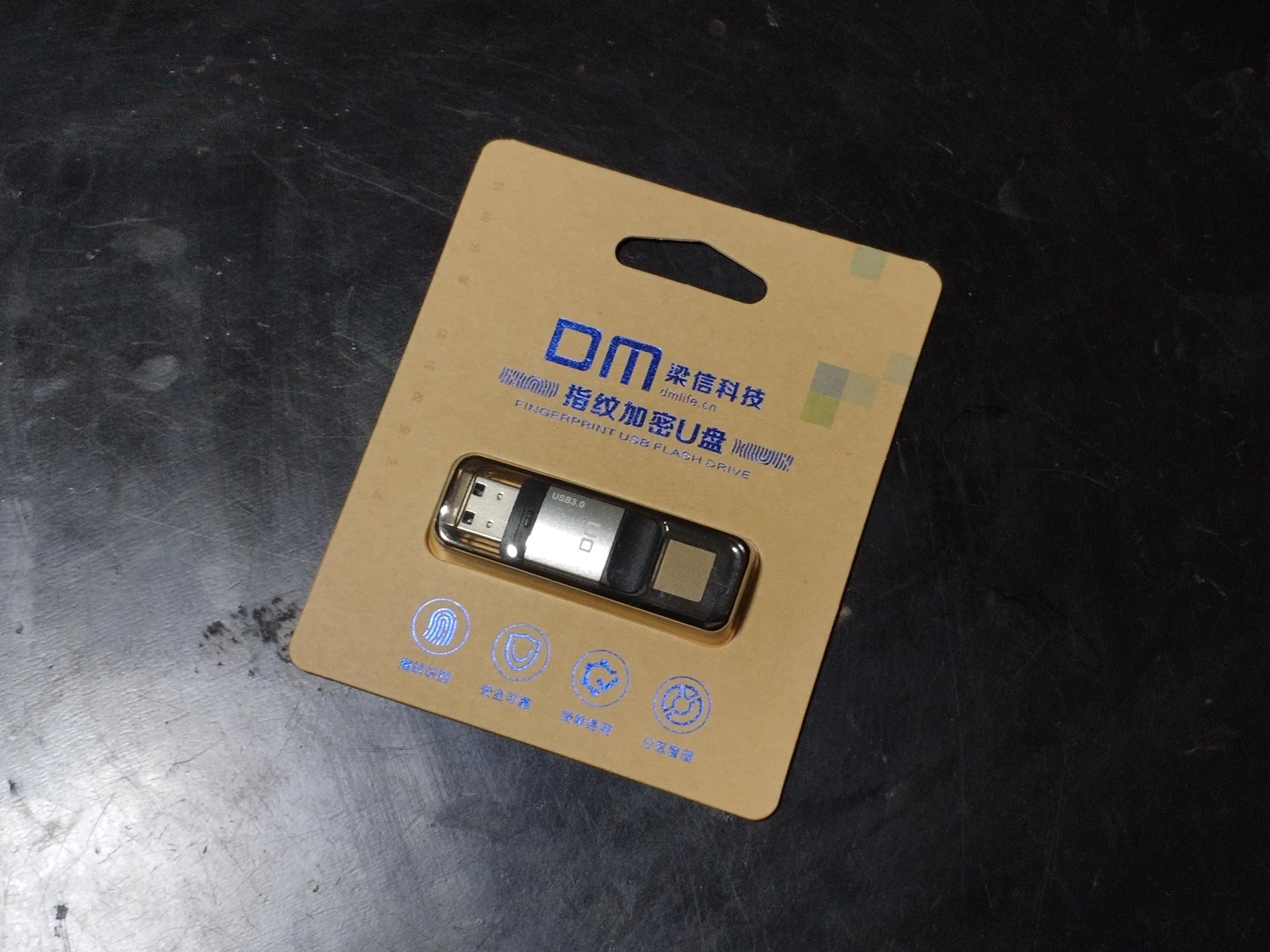 รีวิว DM Fingerprint Encrypted USB 3.0 (PD061) แฟลชไดร์ฟพร้อมตัวสแกนลายนิ้วมือ 1
