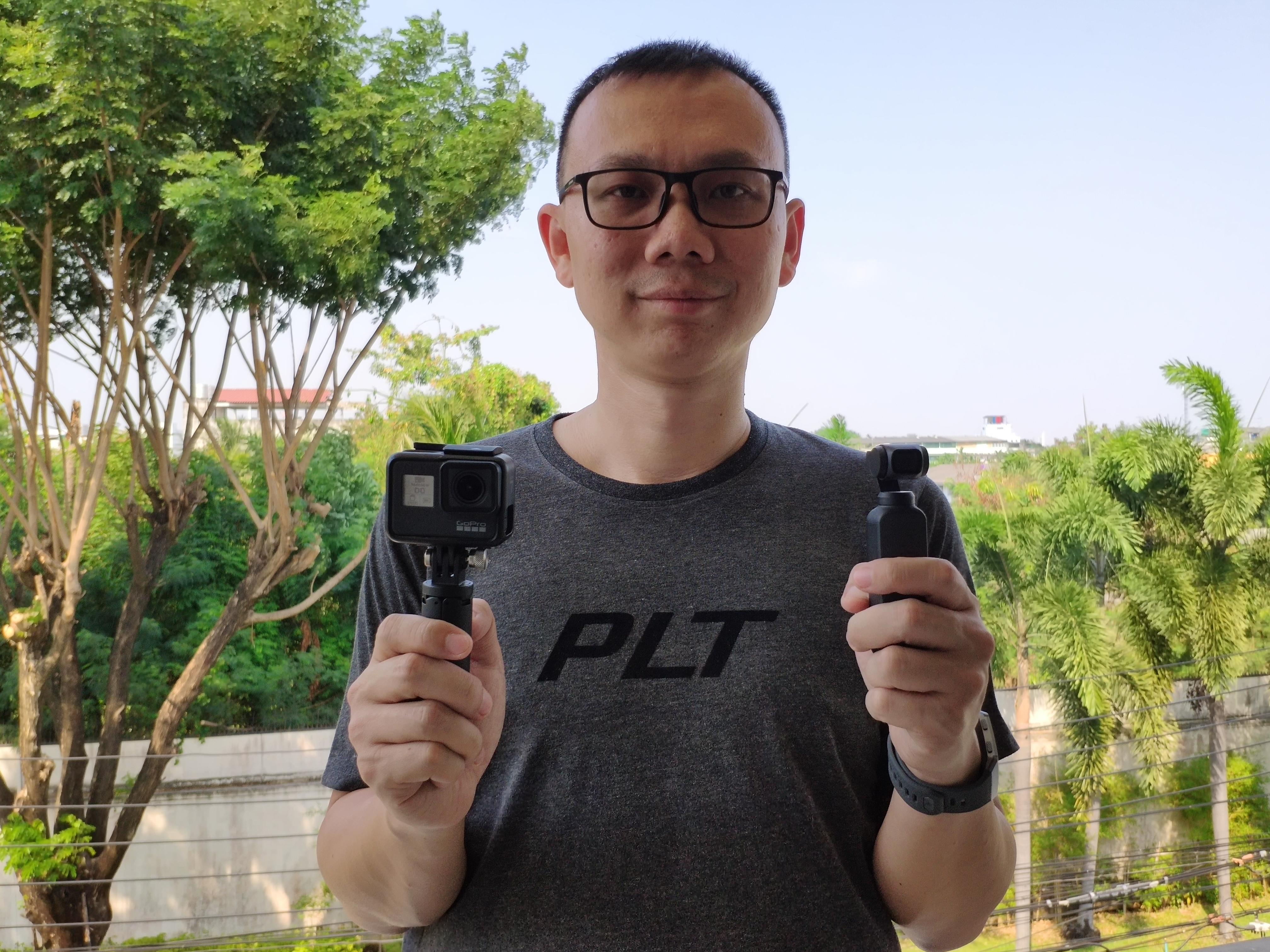 GoPro Hero 7 Black vs DJI Osmo Pocket ตัวไหน ใช่สำหรับคุณ 1