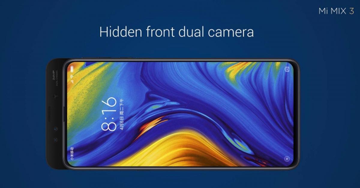 รีวิว Xiaomi Mi Mix 3 สมาร์ทโฟนเรือธงสุดสวย หน้าจอซ่อนกล้อง 1