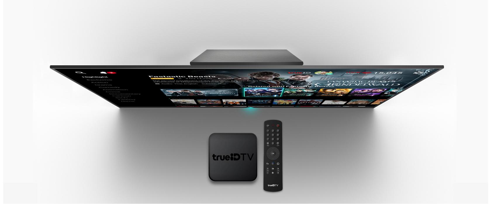 รีวิว TrueID TV Box กล่อง Android TV จากค่ายทรู แล้วเหล่า สว