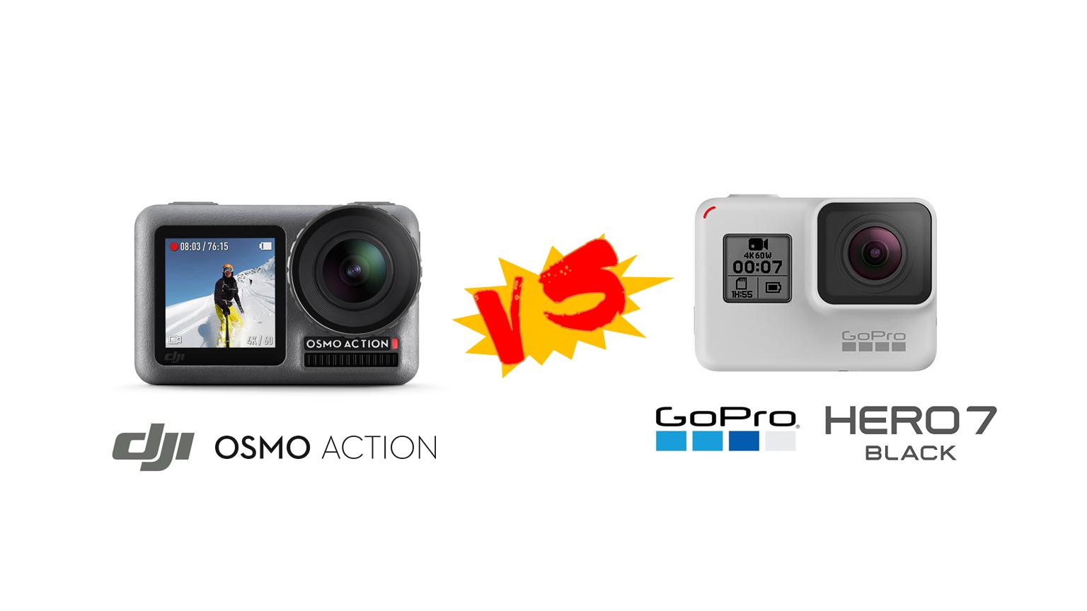 เทียบ DJI Osmo Action กับ GoPro Hero 7 Back สำหรับผมแล้ว คิดว่ายังไง 1