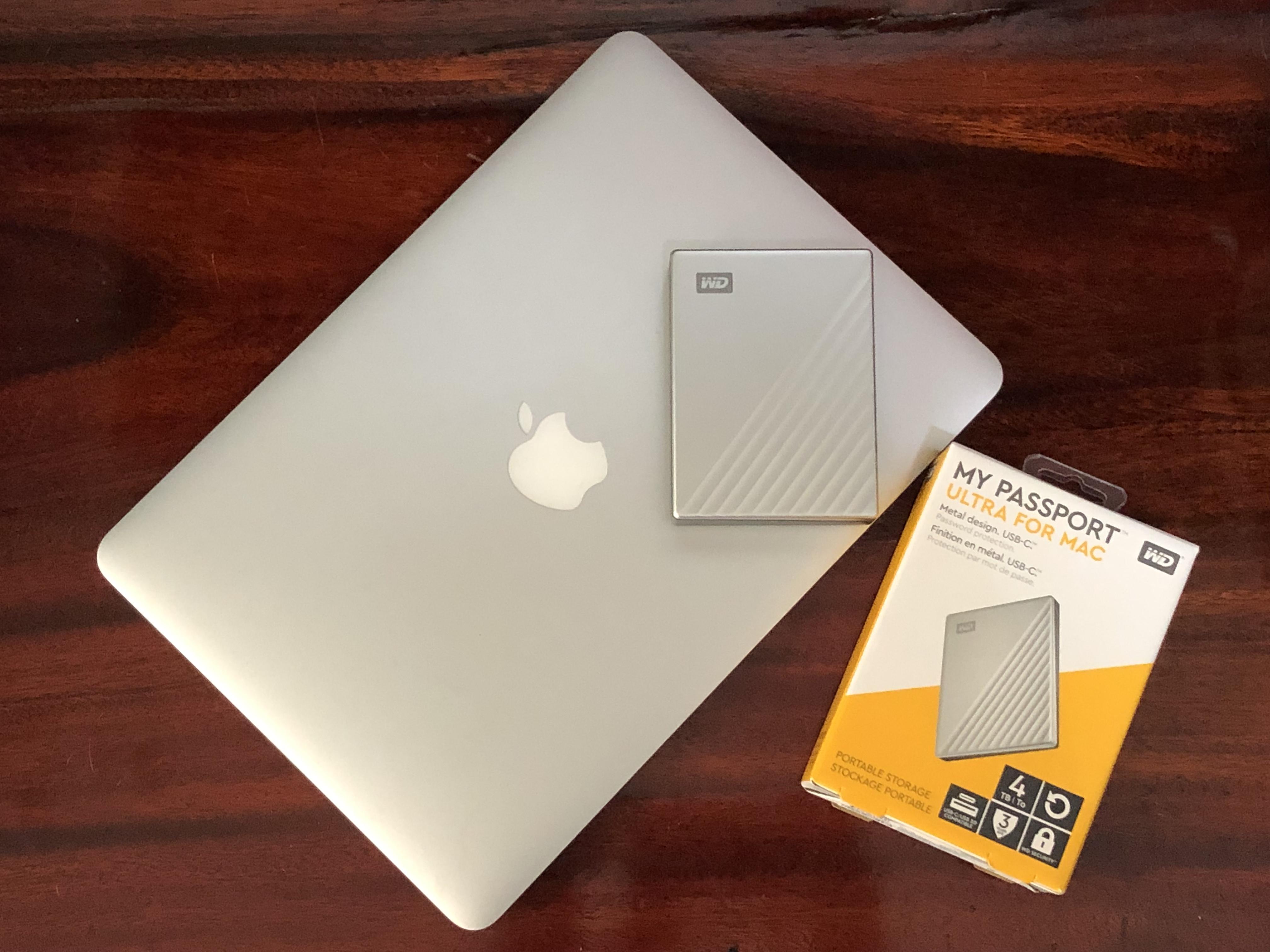 รีวิว WD My Passport Ultra for Mac 4TB ตัวใหม่ 1
