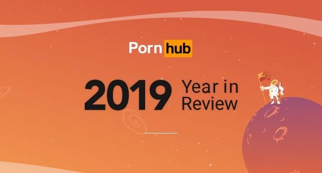 กราฟิกปก Pornhub - 2019 Year in Review